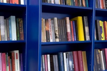 HPL boekenkast detail