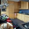 Eiken keuken met graniet werkbladen 0