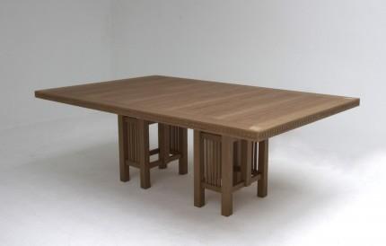 Art Deco tafel kersen